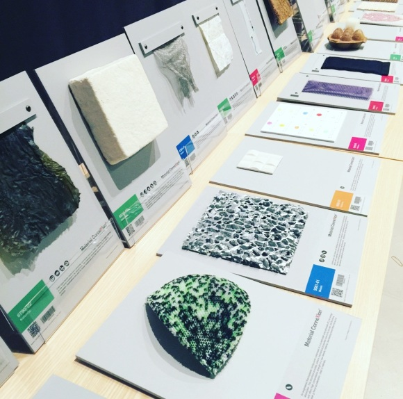 Material Connexion var med som partner denne gangen, med trendy materialer.