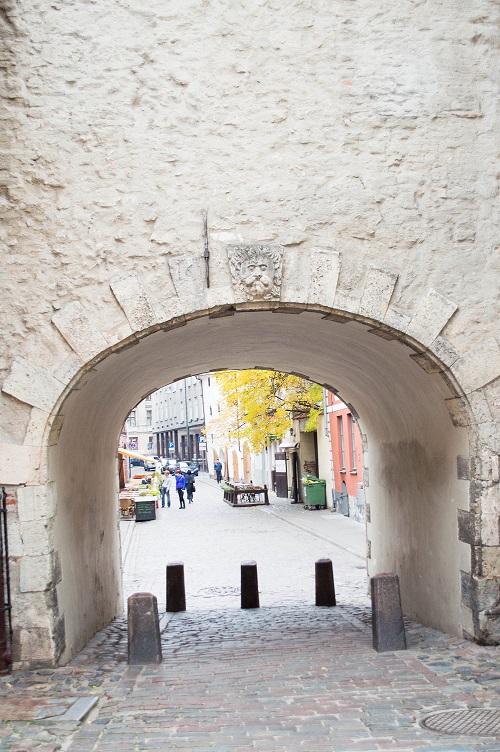 Gamle bygg Riga
