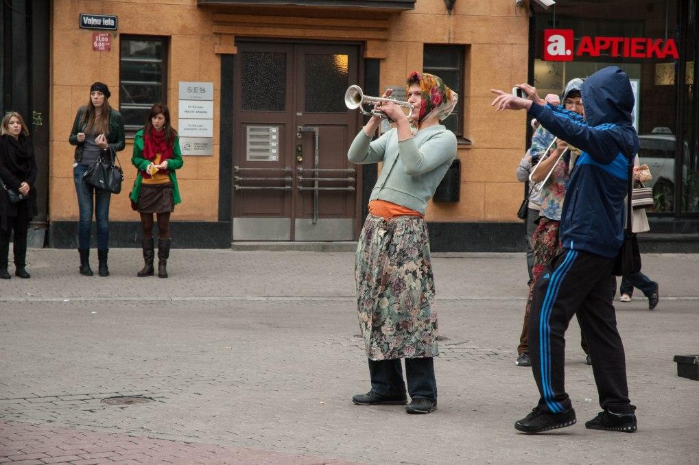 Gatemusikanter Riga